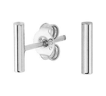 oorbellen staafjes echt zilver
