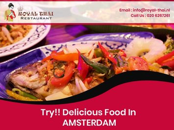Try!! Delicious Food In Thai Restaurant Amsterdam
