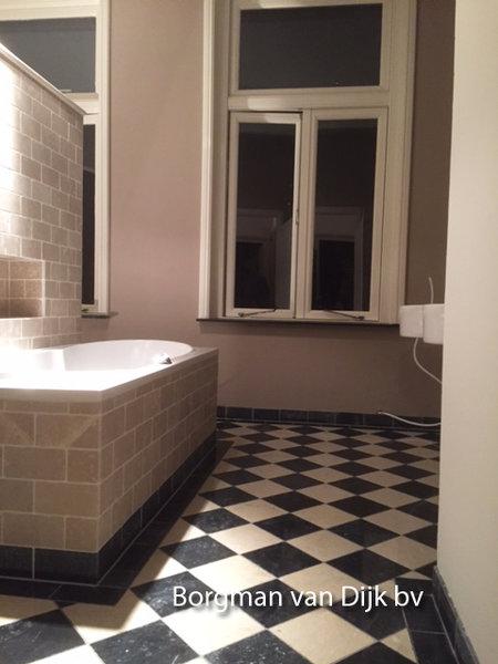 badkamer wandtegels Beige Marmer 20x20 cm natuursteen - Marktgigant