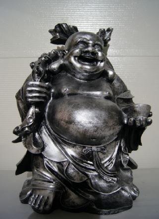 Beeld Boeddha Groot Polyester Beton Marktgigant