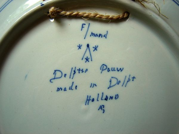 Antiek Delfts Blauw Merktekens.Delfts Blauw Markings Bekijk Hun Waarde En Jaartallen Marktgigant
