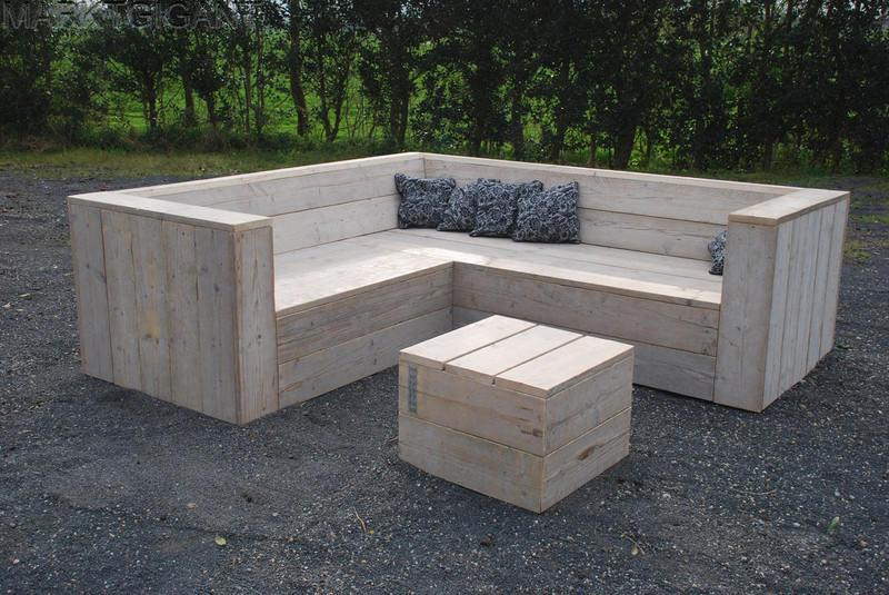 Marktplaats tuinbank hout for Tuinbank steigerhout aanbieding