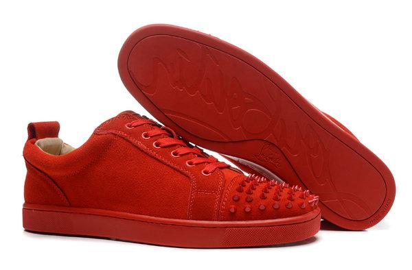 louboutin lage sneakers