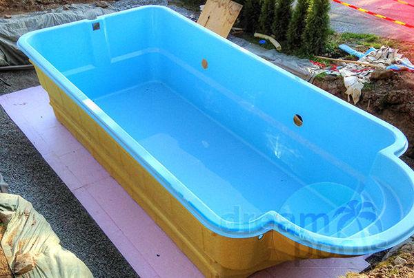 Zwembad Polyester Gebruikt.Polyester Zwembad Met Isolatie 10 50 X 3 70 X 1 55m