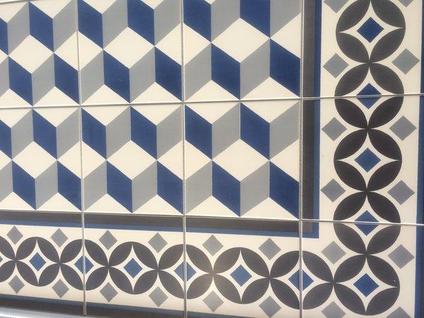 Retro Vinyl Tegels : Vinyl tegels portugees: vinyl met vintage tegel look inspiraties