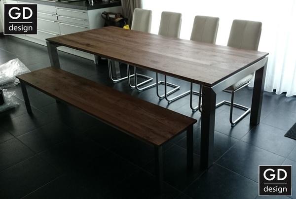 Keuken Design Vriend : Rvs design tafel frames onderstellen ...