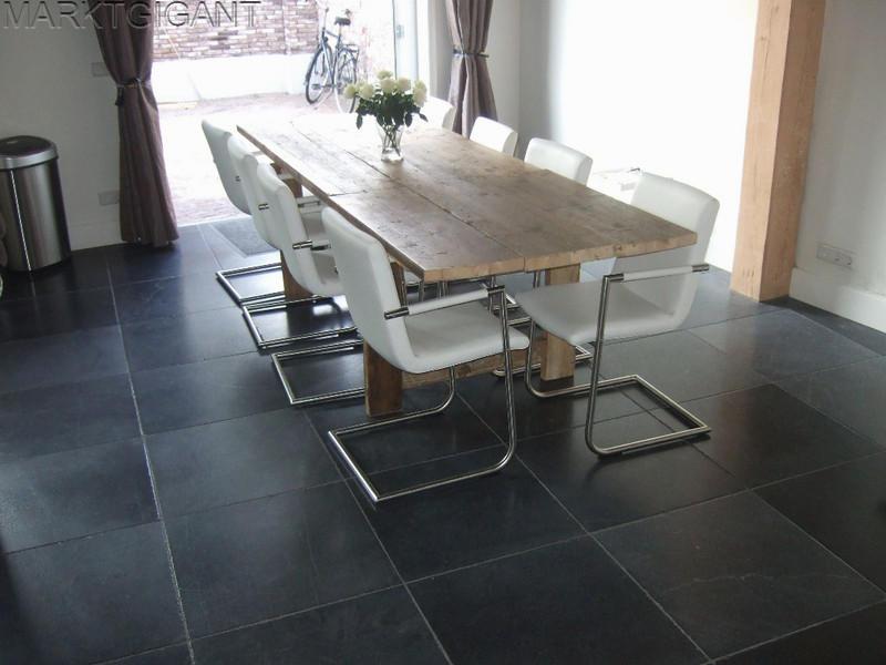 Nostalgische Keukenvloer : vloer Vietnamees hardsteen Gothic 40x40x1,5 cm – Marktgigant