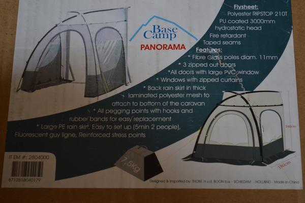 Base Camp Panorama Voortent.Voortent Base Camp Panorama Marktgigant