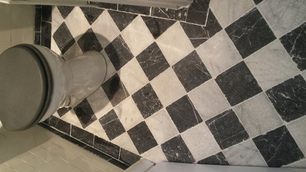 Getrommelde tegels zwart wit vloertegels kopen hornbach laagste